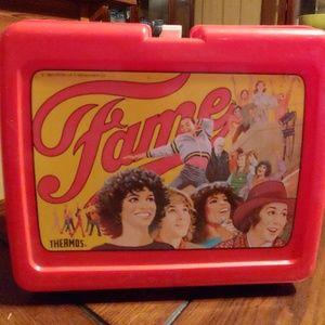 Vintage 80's Fame lunchbox